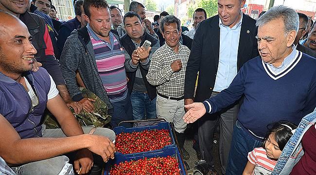 """Büyükşehir'den Üreticiye """"Teknolojik"""" Destek"""