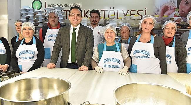 Bornova Belediyesi Lezzet Ustaları Yetiştiriyor