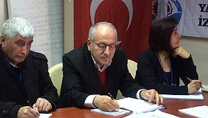 Yapı-Yol Sen İzmir Şube Kongresi'nde 'İhraçlara Hayır' Dendi