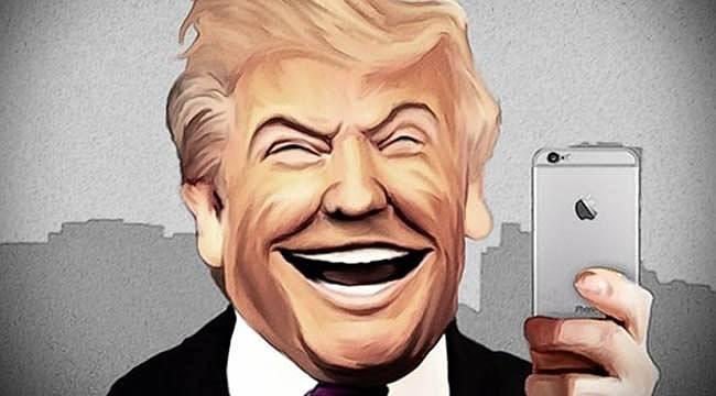 Apple'a Karşı Boykot Çağrısı Yapan Trump, Kendine iPhone Aldı