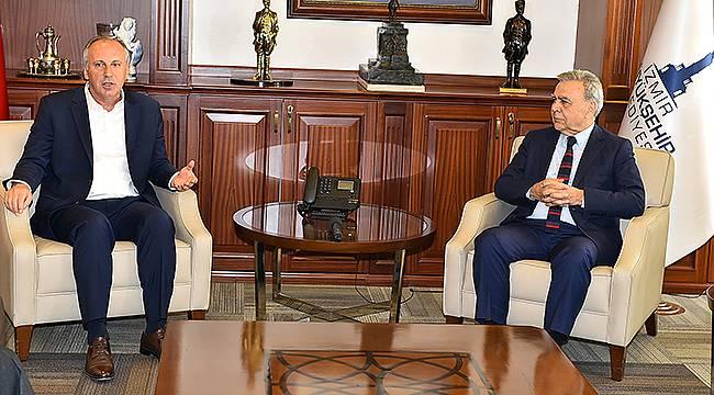Muharrem İnce, Başkan Kocaoğlu'nu Ziyaret Etti