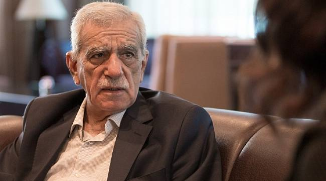 Ahmet Türk: Ceylanpınar Olayını PKK Yapmadı