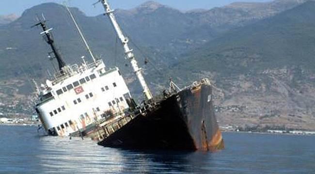 Karadeniz'de Gemi Kazası