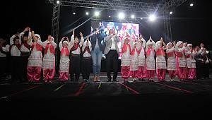 Menderes'te Halk Dansları Coşkusu