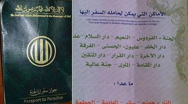 IŞİD 'Cennet Pasaportu' Dağıtıyor