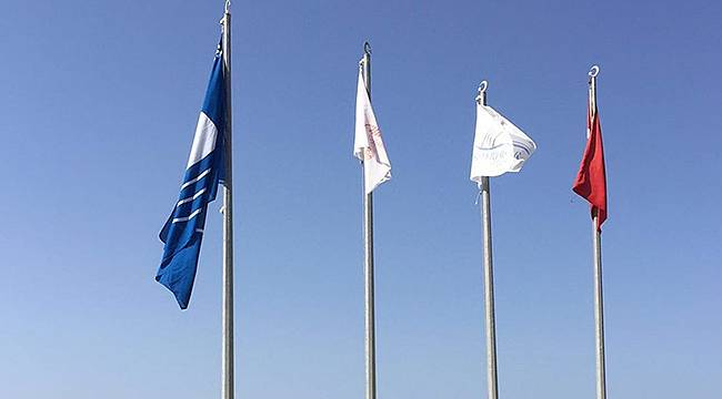 Akarca'da Mavi Bayrak Geri Döndü