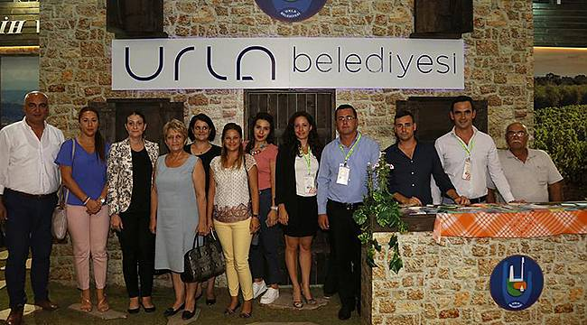Urla Tarihi Üzüm Bağları ile İzmir Fuarı'nda