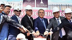 Başkan Kocaoğlu Karabağlar'da Temel Attı
