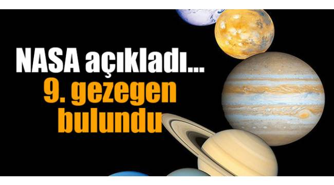 9. gezegen bulundu