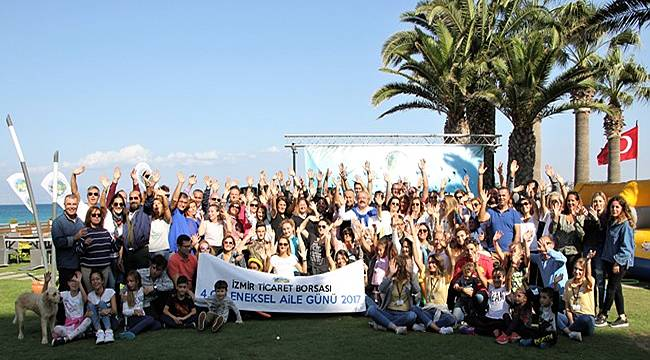İzmir Ticaret Borsası çalışanları 4. Geleneksel Aile Günü'nde bir arada