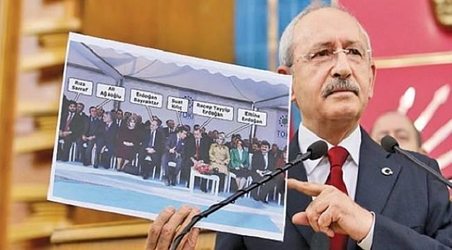 Kılıçdaroğlu: Amaç Sarraf takası