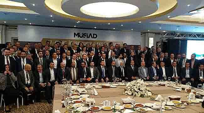 """MÜSİAD GİK Toplantısında """"Gıda, Tarım ve Hayvancılık"""" ele alındı"""