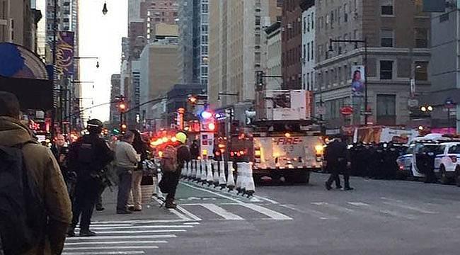 New York'ta Patlama! Yaralılar Var