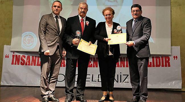 TÜRFAD'dan Dikmen'e Basın Özel Ödülü