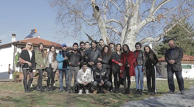 Yalaza Dizisi Ekibi Öğrencilerle Buluştu