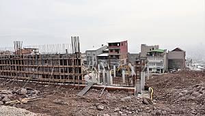 Atatürk Mahallesi Pazar Yeri inşaatı ilerliyor