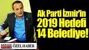 Ak Parti İzmir'in 2019 Hedefi 14 Belediye!
