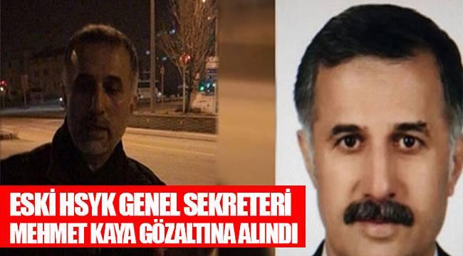 Eski HSYK Genel Sekreteri Kaya gözaltına alındı 20