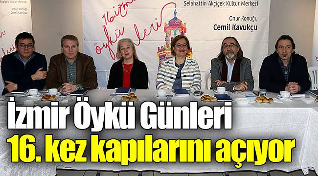 İzmir Öykü Günleri 16. kez kapılarını açıyor