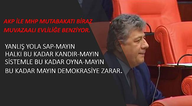 """""""SİSTEMLE BU KADAR OYNA-MAYIN"""""""