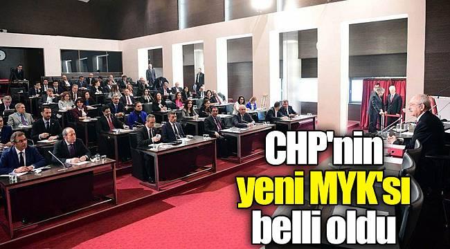 Son dakika… CHP'nin yeni MYK'sı belli oldu