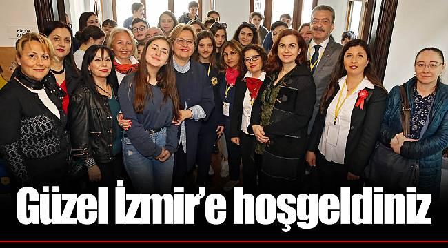Güzel İzmir'e hoşgeldiniz