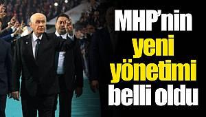 MHP'nin yeni yönetimi belli oldu