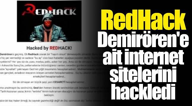 RedHack Demirören'e ait internet sitelerini hackledi