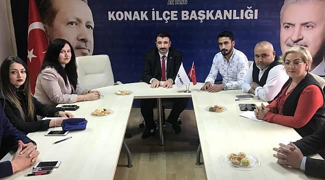 AK Parti Konak'ta A takımı tamam