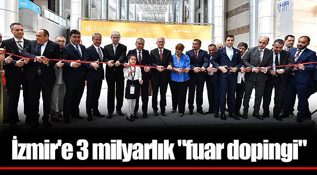İzmir'e 3 milyarlık