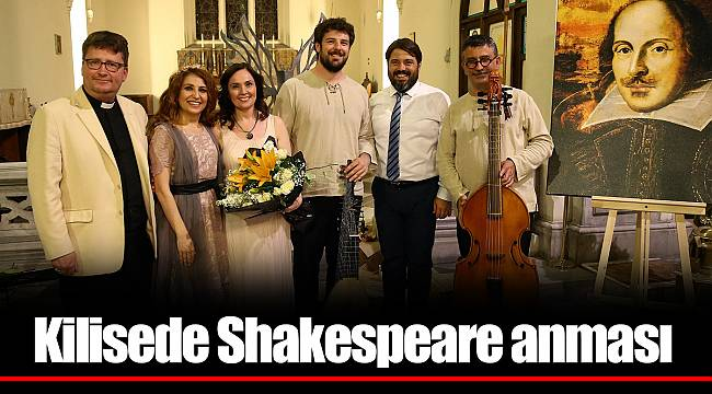 Kilisede Shakespeare anması
