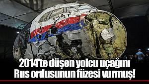 2014'te düşen yolcu uçağını Rus ordusunun füzesi vurmuş!
