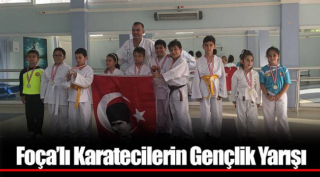 Foça'lı Karatecilerin Gençlik Yarışı