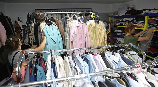 Buca Eşya Giysi Bankası'ndan 9 bin 247 kişi yararlandı