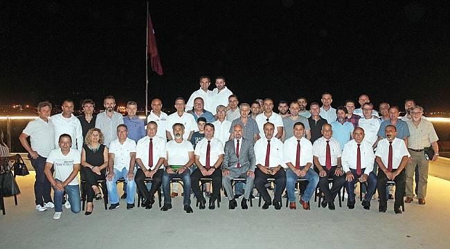 EMF kulüp başkanları iftarda buluştu yeni sezonu görüştü