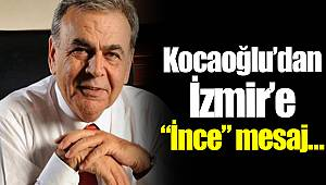 Kocaoğlu'dan İzmir'e