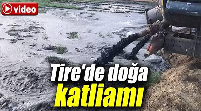 Tire'de doğa katliamı