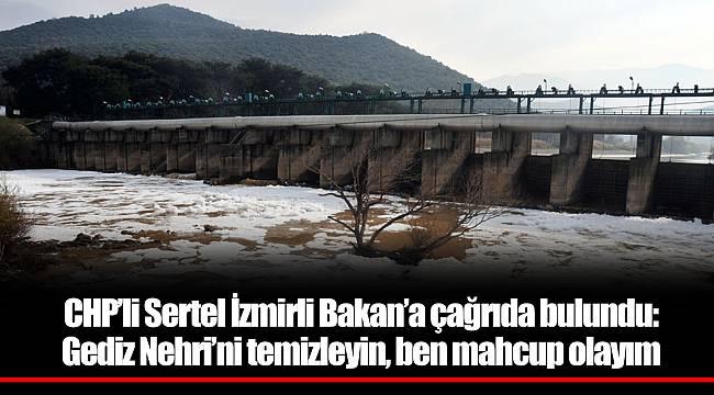 CHP'li Sertel İzmirli Bakan'a çağrıda bulundu:
