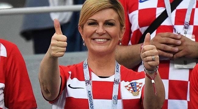 Hırvatistan Cumhurbaşkanı Kitarovic'in bikinili fotoğrafları yalan olduğu ortaya çıktı!