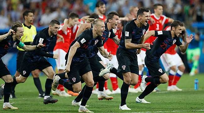 Hırvatistan tarih yazdı.... Finalin adı belli oldu!