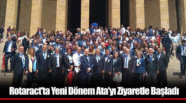 Rotaract'ta Yeni Dönem Ata'yı Ziyaretle Başladı.