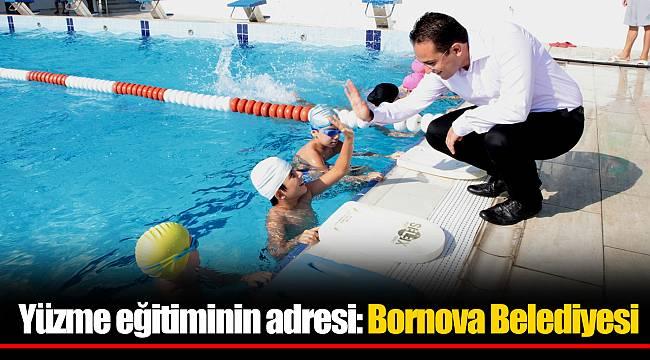 Yüzme eğitiminin adresi: Bornova Belediyesi
