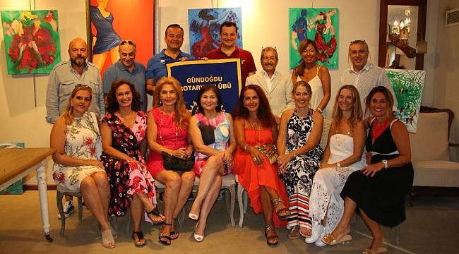 Gündoğdu Rotary'den Eğitim Bursuna Sanat ile Destek