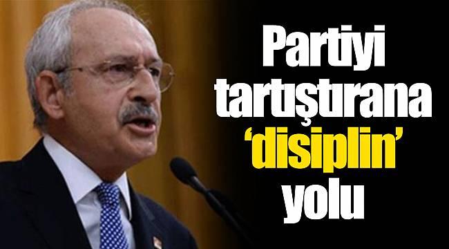 Partiyi tartıştırana 'disiplin' yolu