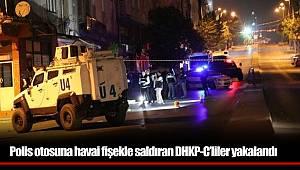 Polis otosuna havai fişekle saldıran DHKP-C'liler yakalandı