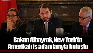 Bakan Albayrak, New York'ta Amerikalı iş adamlarıyla buluştu