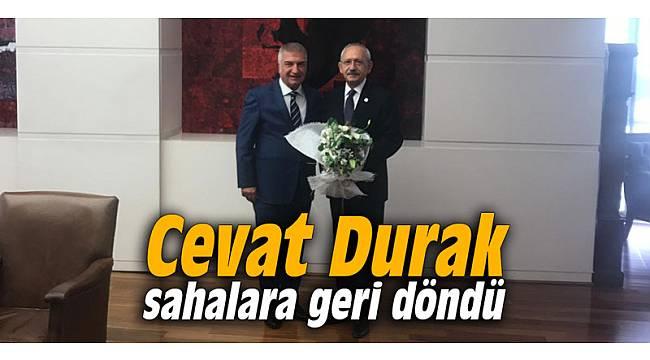 Cevat Durak sahalara geri döndü