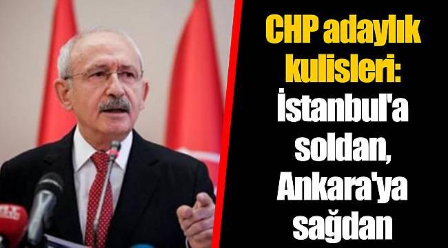 CHP adaylık kulisleri: İstanbul'a soldan, Ankara'ya sağdan
