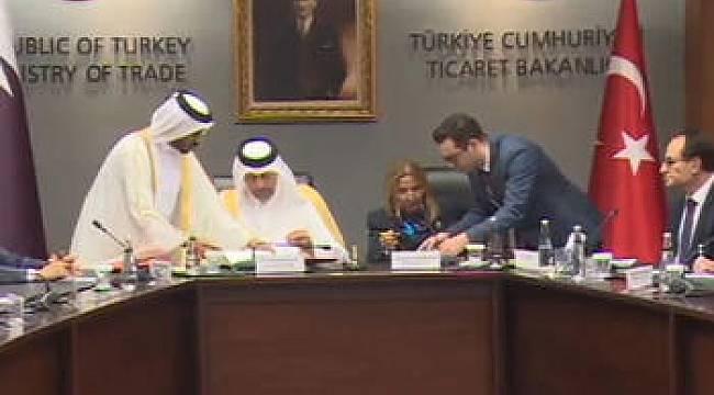 Katar ile çok önemli imza