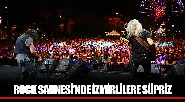 ROCK SAHNESİ'NDE İZMİRLİLERE SÜPRİZ